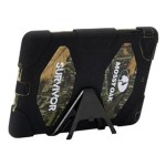 Survivor - Protective cover for tablet - silicone, polycarbonate - black, mossy oak obsession camo - for Apple iPad Air