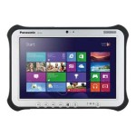 "Panasonic Toughpad FZ-G1 - Tablet - no keyboard - Core i5 4310U / 2 GHz - Windows 7 Pro / 8.1 Pro downgrade - pre-installed: Windows 7 - 8 GB RAM - 128 GB SSD - 10.1"" touchscreen 1920 x 1200 - Intel HD Graphics 4400 - 802.11ac - 4G - with Toughbook Preferred FZ-G1FY335CM"