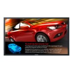 """47LFV52X2VW - 4 x 47"""" Class (46.9"""" viewable) - LFV5 LCD video wall - digital signage - 1080p (Full HD) 1920 x 1080 - direct-lit LED - black"""