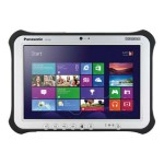 "Panasonic Toughpad FZ-G1 - Tablet - no keyboard - Core i5 4310U / 2 GHz - Windows 7 Pro / 8.1 Pro downgrade - pre-installed: Windows 7 - 8 GB RAM - 128 GB SSD - 10.1"" touchscreen 1920 x 1200 - Intel HD Graphics 4400 - 802.11ac - 4G - with Toughbook Preferred FZ-G1F53LFCM"