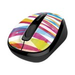 Microsoft Wireless Mobile Mouse 3500 - Limited Edition - mouse - optical - 3 buttons - wireless - 2.4 GHz - USB wireless receiver - bandage strips GMF-00403