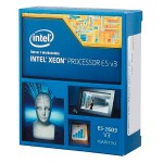 Xeon E5-2603V3 - 1.6 GHz - 6-core - 6 threads - 15 MB cache - LGA2011-v3 Socket - Box