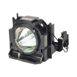 Projector lamp (equivalent to: Panasonic ET-LAD60W) - UHM - 330 Watt - 2000 hour(s) (pack of 2) - for Panasonic PT-D5000, D6000, DW6300, DZ6700, DZ6710