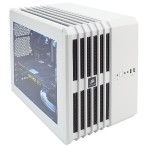 Carbide Series Air 240 - Cube - micro ATX - no power supply ( ATX ) - white - USB/Audio