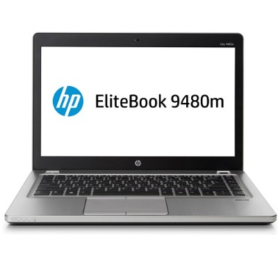 HP Smart Buy EliteBook Folio 9480m Intel Core i5-4210U Dual-Core 1.70GHz Notebook PC - 4GB RAM, 500GB HDD, 14
