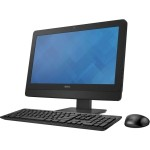 "OptiPlex 3030 - All-in-one - 1 x Core i5 4590S / 3 GHz - RAM 4 GB - HDD 500 GB - DVD-Writer - HD Graphics 4600 - GigE - WLAN: 802.11a/b/g/n, Bluetooth 4.0 - Win 7 Pro 64-bit (includes Win 8.1 Pro 64-bit License) - monitor: LED 19.5"" 1600 x 900 (HD+) - key"