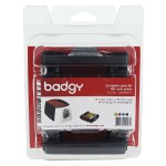 Consumable Pack for Badgy100 & Badgy200 Card Printers (100 Prints)
