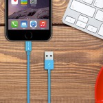 MiColor - Lightning cable - USB (M) to Lightning (M) - 4 ft - blue - for Apple iPad/iPhone/iPod (Lightning)