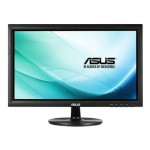 "ASUS VT207N - LED monitor - 19.5"" - touchscreen - 1600 x 900 - TN - 250 cd/m² - 1000:1 - 5 ms - DVI-D, VGA - black VT207N"