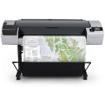 "DesignJet T795 ePrinter - 44"" large-format printer - color - ink-jet - Roll (44 in) - 2400 x 1200 dpi - up to 0.6 min/page (mono) / up to 0.5 min/page (color) - USB 2.0, Gigabit LAN"