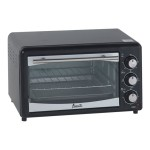 Avanti Products PO61BA - Electric oven - 18 qt - black PO61BA