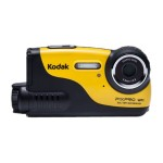 PIXPRO WP1 - Digital camera - compact - 16.15 MP - 720p - underwater up to 16ft - yellow