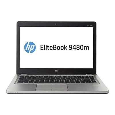 HP Smart Buy EliteBook Folio 9480m Intel Core i7-4600U Dual-Core 2.10GHz Notebook PC - 8GB RAM, 256GB SSD, 14