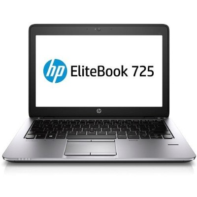 HP EliteBook 725 G2 AMD Quad-Core A8 Pro-7150B 2.0GHz Notebook PC - 4GB RAM, 180GB SSD, 12.5