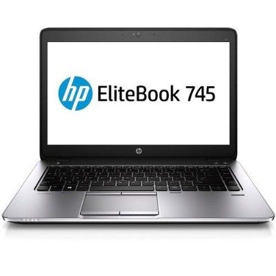 HP Smart Buy EliteBook 745 G2 AMD Quad-Core A8 Pro-7150B 2.0GHz Notebook PC - 4GB RAM, 180GB SSD, 14.0