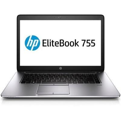 HP Smart Buy EliteBook 755 G2 AMD Quad-Core A8 Pro-7150B 2.0GHz Notebook PC - 4GB RAM, 500GB HDD, 15.6