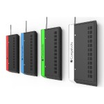 WalliPad - Secure and Charge up to 8 Tablets - Low Profile