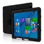Capture Ultra Rugged Case with Rotating Hand Strap for Microsoft Surface Pro 3 - Black