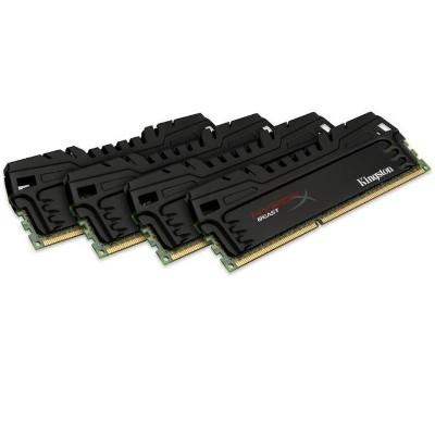 Kingston16GB 2400MHz DDR3 Non-ECC CL11 DIMM (Kit of 4) XMP Beast Series(HX324C11T3K4/16)