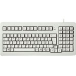 MX1800 - Keyboard - PS/2, USB - English - US - light gray