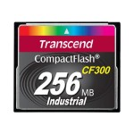 CF300 Industrial - Flash memory card - 256 MB - 300x - CompactFlash