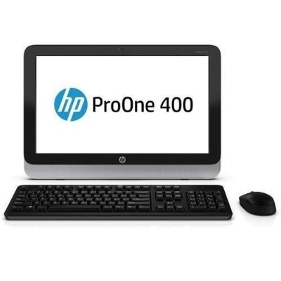 HPProOne 400 G1 Intel Core i5-4590T Dual-Core 2.0GHz All-in-One PC - 4GB RAM, 500GB HDD, 19.5