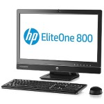 "HP Inc. Smart Buy EliteOne 800 G1 Intel Core i5-4690S Quad-Core 3.20GHz All-in-One Business PC - 4GB RAM, 500GB HDD, 23"" IPS Touch HD LED, SuperMulti DVD, Gigabit Ethernet, 802.11a/b/g/n, Webcam K1K42UT#ABA"