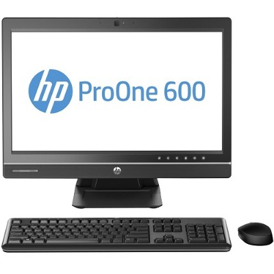HPProOne 600 G1 Intel Core i5-4590S Quad-Core 3.0GHz All-in-One Business PC - 4GB RAM, 500GB HDD, 21.5