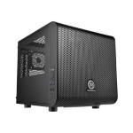 Core V1 - Mini tower - mini ITX - no power supply - black - USB/Audio