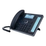 440HD SIP IP Phone - VoIP phone - SIP, SDP - 6 lines - black