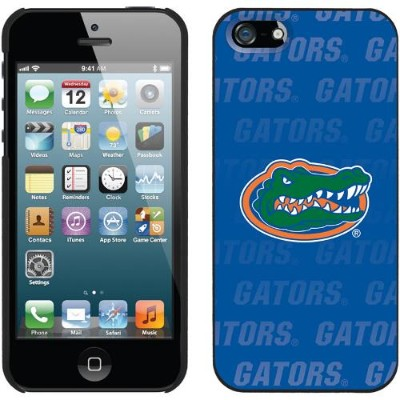 CoverooUniversity of Florida - Repeating for iPhone 5s / 5 Thinshield Snap-On Case(590-7555-BK-FBC)