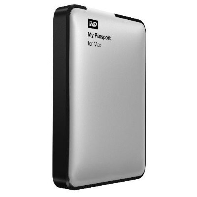 WD 2TB My Passport Portable External Hard Drive - USB 3.0 for Mac - Refurbished (WDBZYL0020BSLNESNREF)