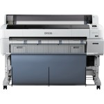 "SureColor T7270D - 44"" large-format printer - color - ink-jet - Roll (44 in) - 2880 x 1440 dpi - up to 780.4 sq.ft/hour (mono) / up to 780.4 sq.ft/hour (color) - capacity: 2 rolls - USB 2.0, Gigabit LAN"