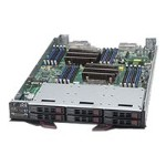 "Super Micro Supermicro SuperBlade SBI-7128R-C6 - Server - blade - 2-way - RAM 0 MB - SATA/SAS - hot-swap 2.5"" - no HDD - AST2400 - GigE - Monitor : none SBI-7128R-C6"