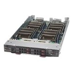 "Supermicro SuperBlade SBI-7228R-T2F - Cluster - blade - 2-way - RAM 0 MB 2.5"" - no HDD - AST2400 - GigE, InfiniBand - monitor: none"