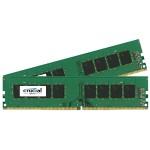 16GB Kit (8GBx2) DDR4 2133 MT/s (PC4-17000) CL15 DR x8 Non-ECC UDIMM 288-Pin Memory