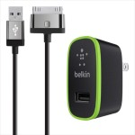 Belkin Home Charger for iPad (10 Watt/2.1 Amp) - Black F8J141TT04-BLK