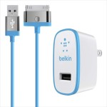 Home Charger for iPad (10 Watt/2.1 Amp) - Blue