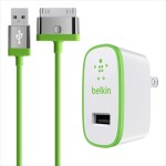 Belkin Home Charger for iPad (10 Watt/2.1 Amp) - Green F8J141TT04-GRN