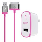 Home Charger for iPad (10 Watt/2.1 Amp) - Pink