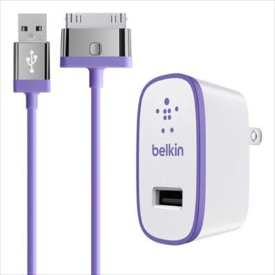 BelkinHome Charger for iPad (10 Watt/2.1 Amp) - Purple(F8J141TT04-PUR)