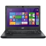 """TravelMate P246-M-52X2 - Core i5 4210U / 1.7 GHz - Win 8.1 Pro 64-bit / Win 7 Pro 64-bit downgrade - 4 GB RAM - 500 GB HDD - DVD SuperMulti - 14"""" 1366 x 768 ( HD ) - HD Graphics 4400 - black"""