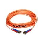 AX - Network cable - ST multi-mode (M) to ST multi-mode (M) - 39 ft - fiber optic - 50 / 125 micron - OM2 - riser - orange