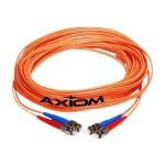 AX - Network cable - ST multi-mode (M) to ST multi-mode (M) - 66 ft - fiber optic - 62.5 / 125 micron - OM1 - riser - orange