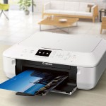 PIXMA MG5620 - Multifunction printer - color - ink-jet - 8.5 in x 11.7 in (original) - Legal (media) - up to 12.2 ipm (printing) - 100 sheets - USB 2.0, Wi-Fi(n) with  InstantExchange