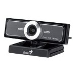 Genius WideCam F100 - Web camera - color - 12 MP - 1920 x 1080 - audio - USB 2.0 - MJPEG, WMV 32200213101