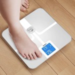 runtastic Libra Bluetooth Smart Scale and Body Analyzer for iPhone & iPad - White RUNSCA1W