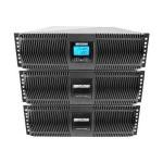 Minuteman Endeavor ED8000RTXL - UPS ( rack-mountable / external ) - AC 208 V - 6200 Watt - 6889 VA - RS-232 - output connectors: 10 - PFC - 9U