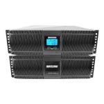 Minuteman Endeavor ED8200RTXL - UPS ( rack-mountable / external ) - AC 208 V - 7200 Watt - 8000 VA - RS-232 - PFC - 6U