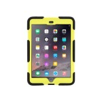 Griffin Survivor All-Terrain - Back cover for tablet - silicone, polycarbonate - black, citron - for Apple iPad mini; iPad mini 2 GB35919-3